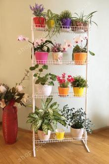 Подставки из металла для растений, цветов и рассады