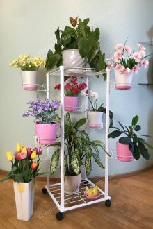 Подставки из металла для растений купить недорого