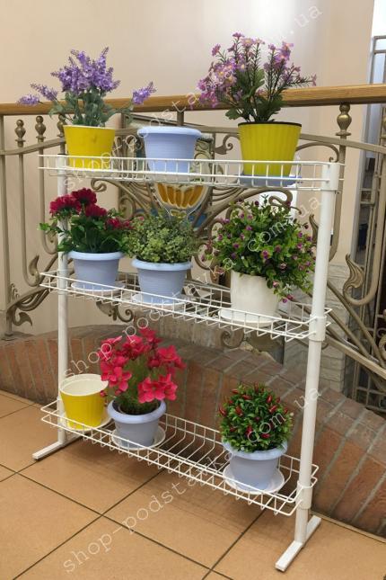 Подставки из металла, цветочные подставки, для рассады  купить в интернет-магазине