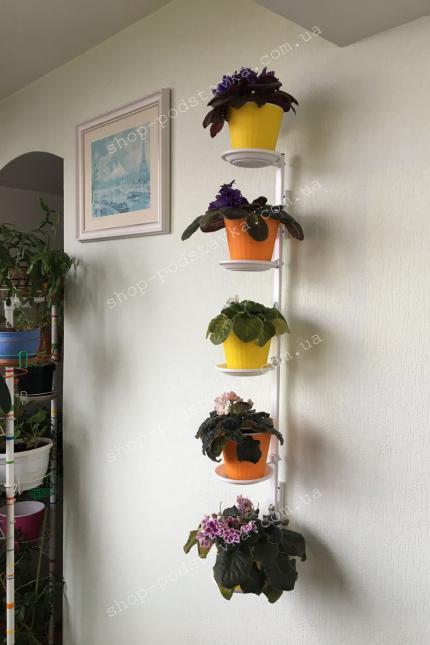 """Подставка для цветов на стену """"Барвинок"""" в Украине тел. (098) 300 11 00"""