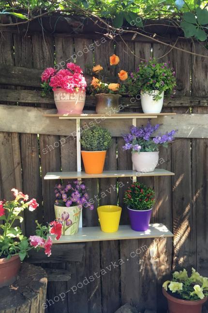 Полочку для цветов купить Днепр тел. (098) 300 11 00