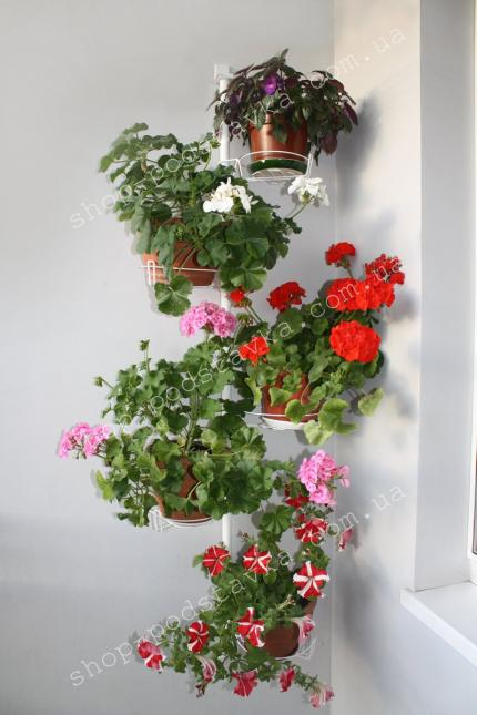 "Подставка для цветов ""Настенная"" цена тел. (098) 300 11 00"