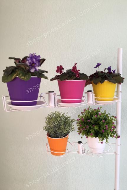 Подставки из металла для растений, для интерьера