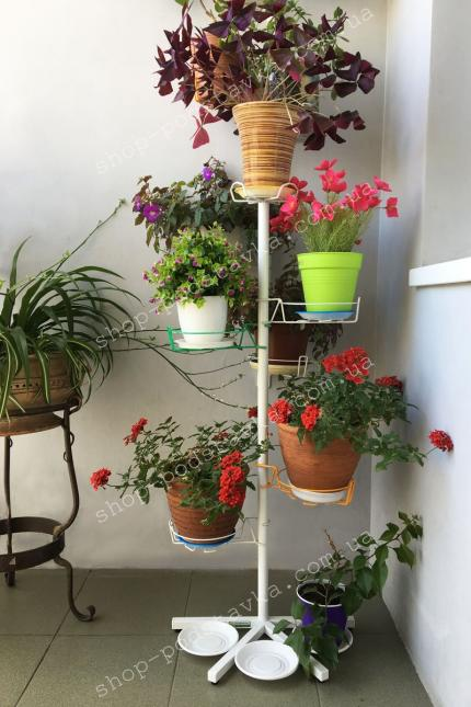 Стеллажи для цветов и рассады
