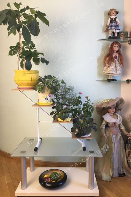 """Цветочная подставка """"Тоскана""""  на подоконник фото тел.(098) 300 11 00"""
